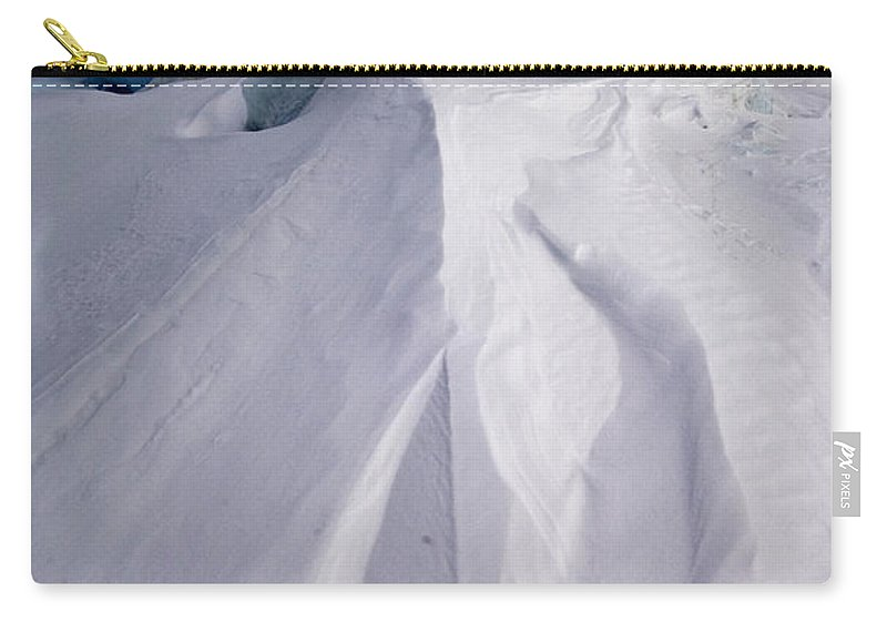 Pack Ice Carry-all Pouch featuring the photograph Pack Ice, Antarctica by John Shaw