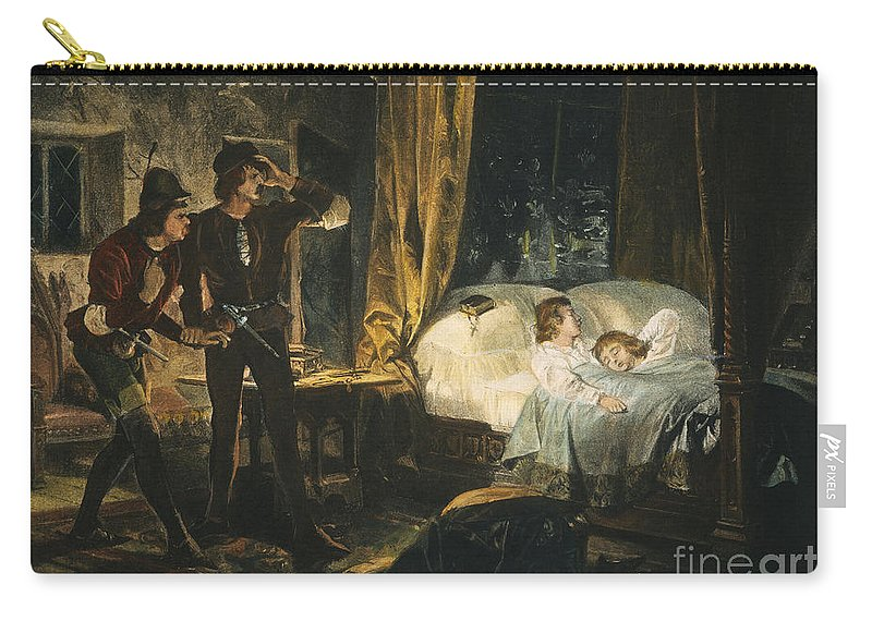 19th Century Carry-all Pouch featuring the photograph Shakespeare: Richard IIi by Granger