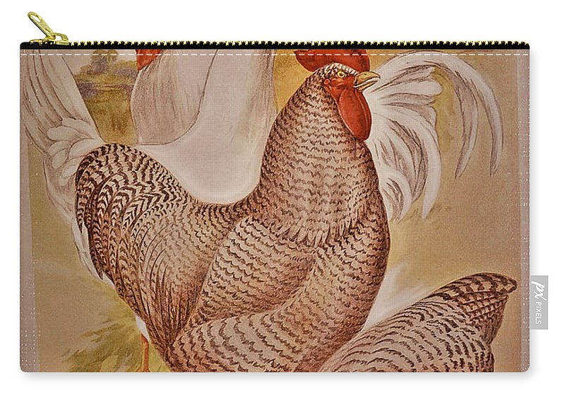 1909 Carry-all Pouch featuring the photograph 1909 California State Fair Poster by Bill Owen