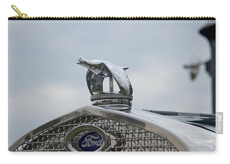 Glenmoor Carry-all Pouch featuring the photograph 1930 Ford Model A by Jack R Perry