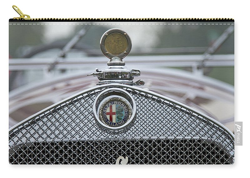 Glenmoor Carry-all Pouch featuring the photograph 1931 Alfa Romeo by Jack R Perry