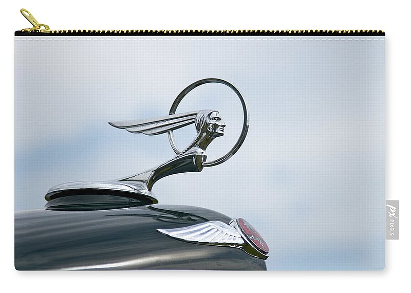 Glenmoor Carry-all Pouch featuring the photograph 1933 Pontiac by Jack R Perry