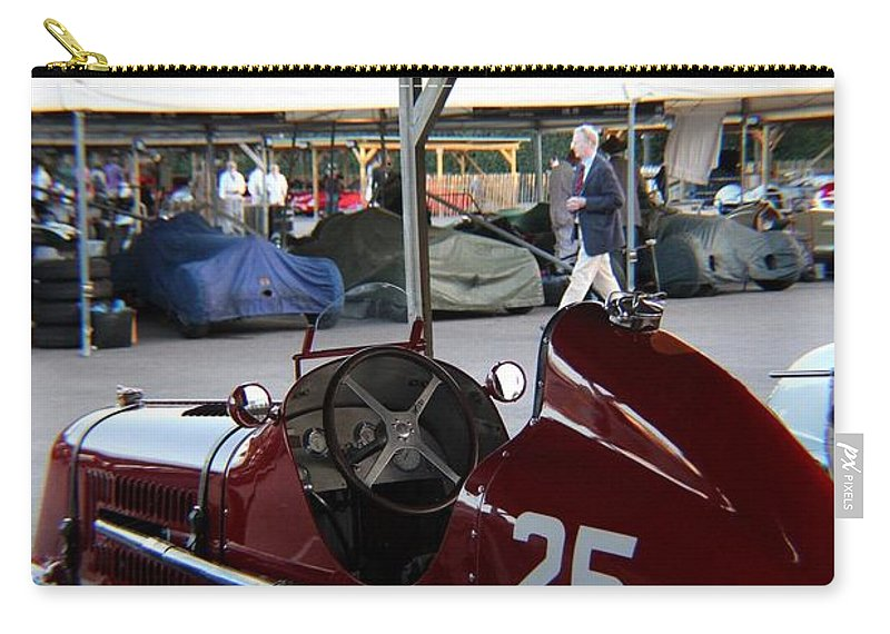 Maserati 4cm Carry-all Pouch featuring the photograph 1935 Maserati 4cm by Robert Phelan