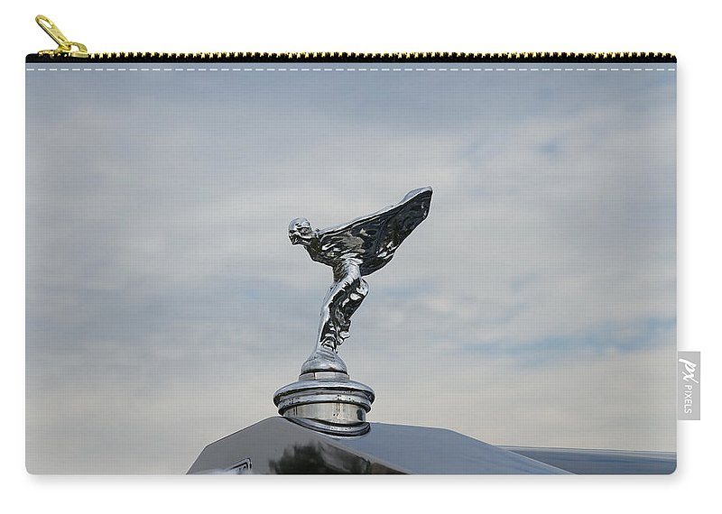 Glenmoor Carry-all Pouch featuring the photograph 1935 Rolls Royce by Jack R Perry