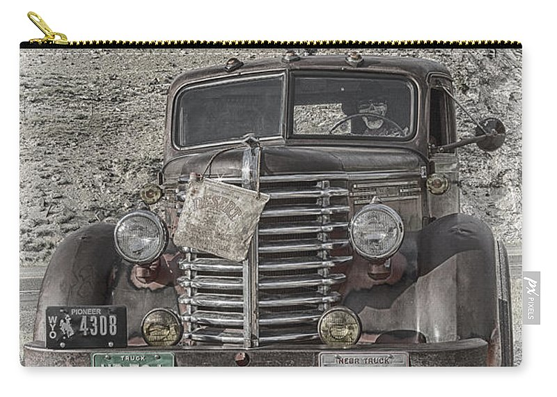 Age Carry-all Pouch featuring the photograph Desert Traveler by Elaine Haberland
