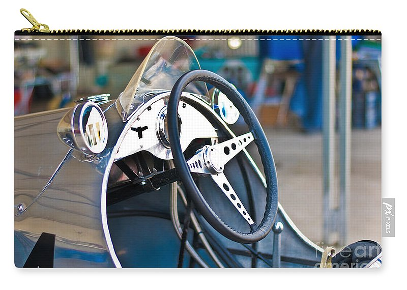 Cooper Carry-all Pouch featuring the photograph 1950 Cooper Mkiv by Stuart Row