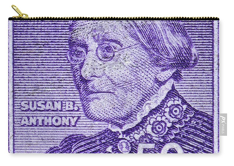 1954 1961 Carry All Pouch Featuring The Photograph Susan B
