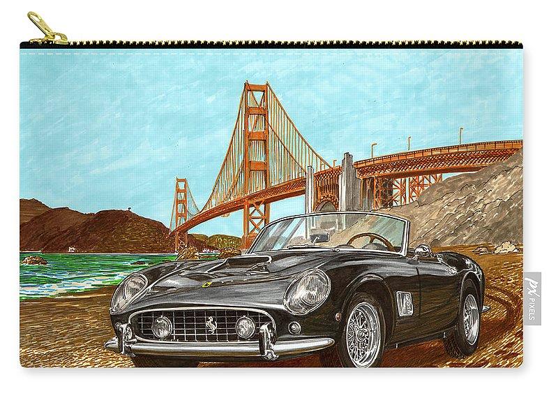 1960 Ferrari 250 California G T Carry All Pouch