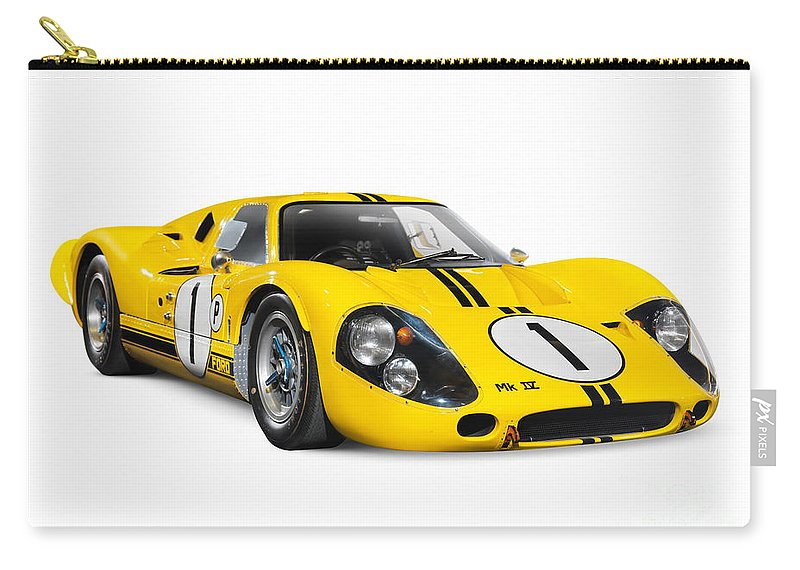 Sports Car Carry-all Pouch featuring the photograph 1967 Ford Gt 40 Mk Iv by Oleksiy Maksymenko