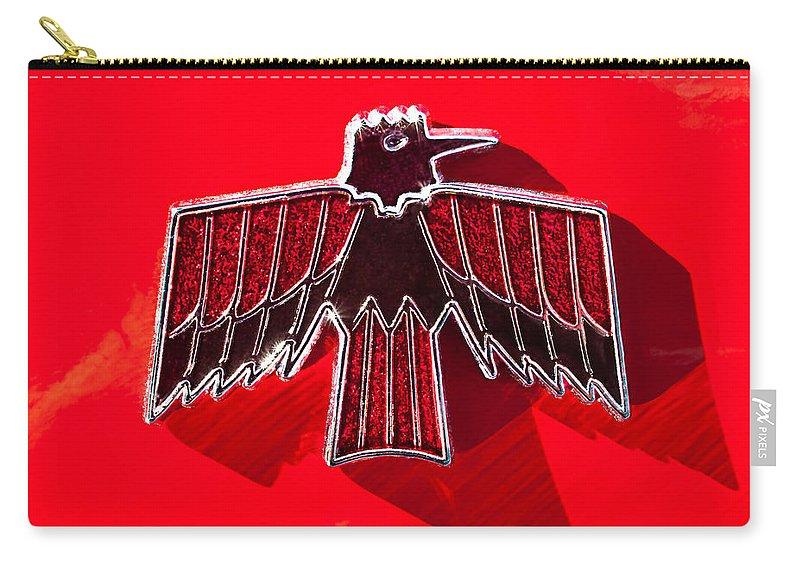 1967 Pontiac Firebird Emblem Carry All Pouch For Sale By Jill Reger