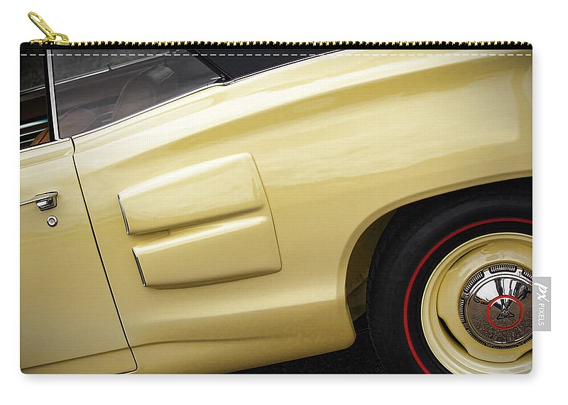 1969 Carry-all Pouch featuring the photograph 1969 Dodge Coronet R/t Convertible by Gordon Dean II