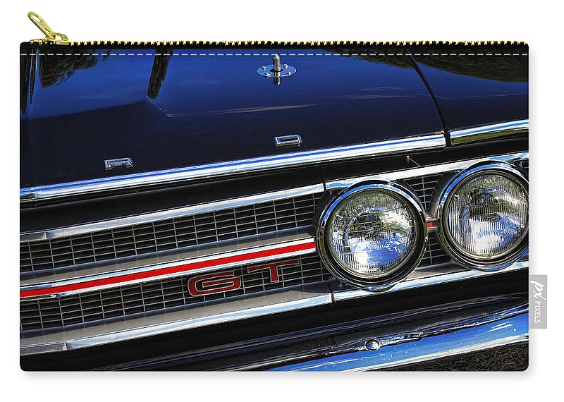 1969 Carry-all Pouch featuring the photograph 1969 Ford Torino Gt by Gordon Dean II