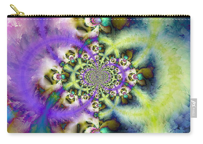 Carry-all Pouch featuring the digital art 197010 by Studio Pixelskizm