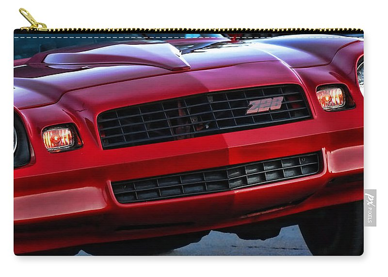 1981 Carry-all Pouch featuring the photograph 1980 Z-28 Camaro by Gordon Dean II