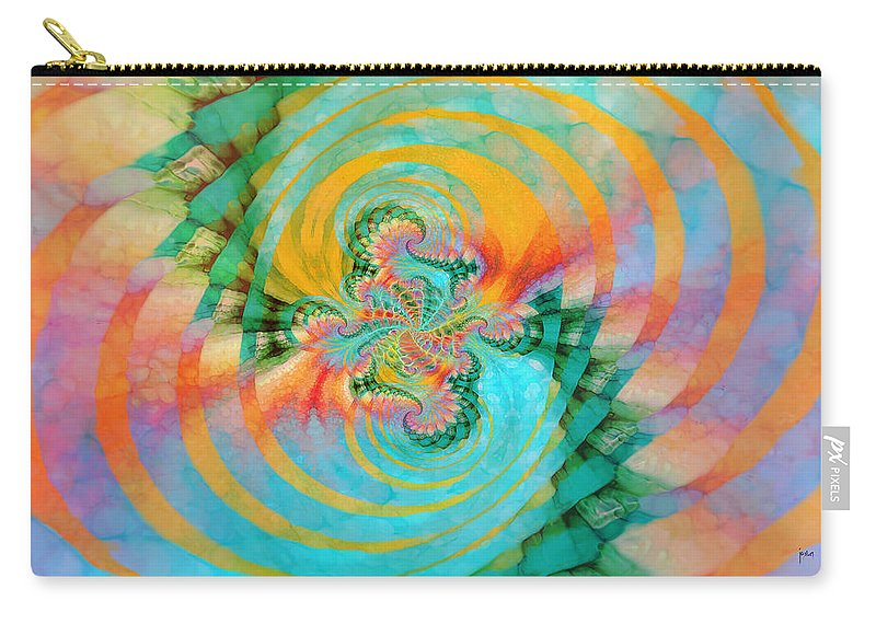 Carry-all Pouch featuring the digital art 198004 by Studio Pixelskizm