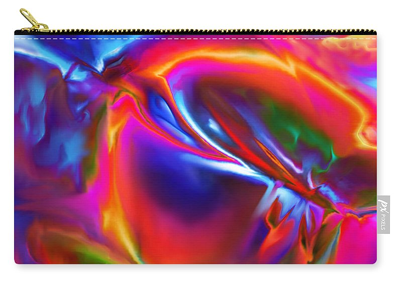 Carry-all Pouch featuring the digital art 1997001 by Studio Pixelskizm