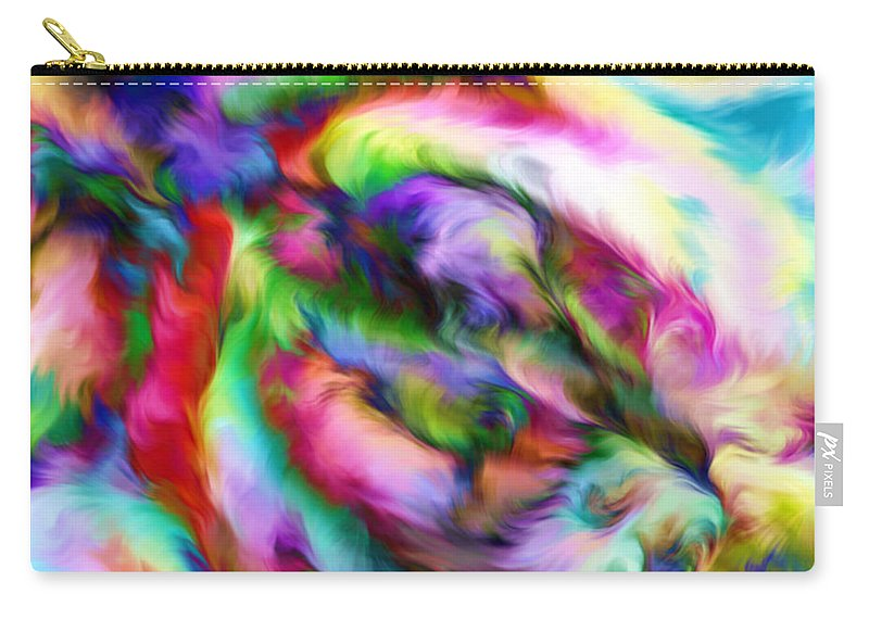 Carry-all Pouch featuring the digital art 1997004 by Studio Pixelskizm