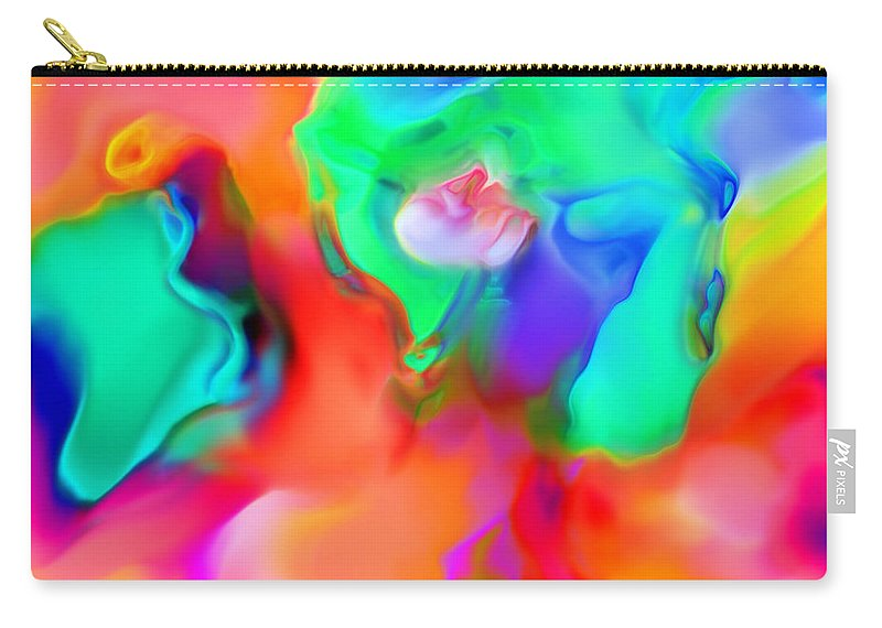 Carry-all Pouch featuring the digital art 1997005 by Studio Pixelskizm