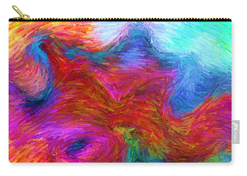 Carry-all Pouch featuring the digital art 1997006 by Studio Pixelskizm
