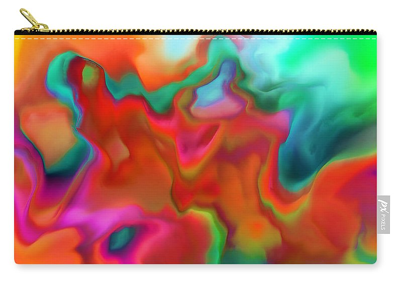 Carry-all Pouch featuring the digital art 1997019 by Studio Pixelskizm
