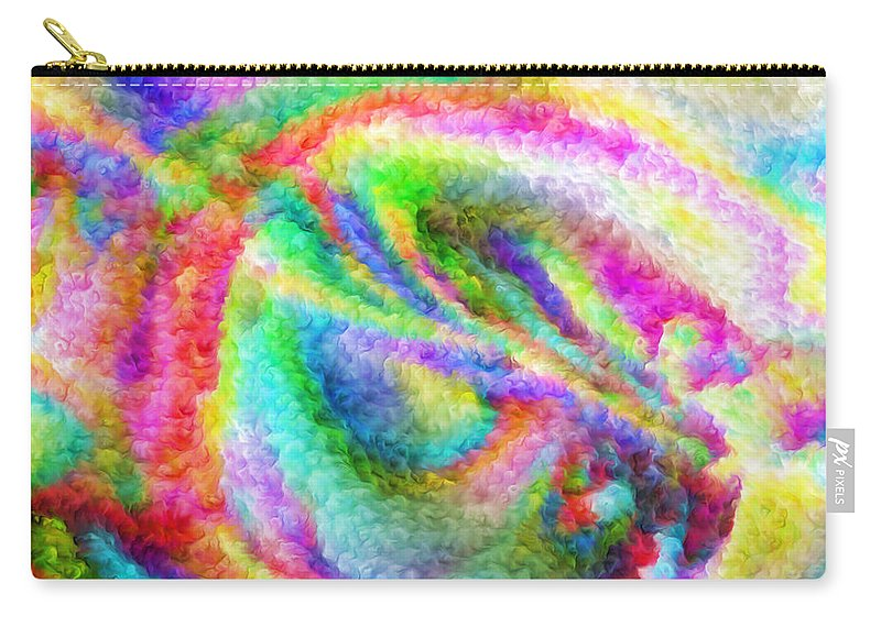 Carry-all Pouch featuring the digital art 1997026 by Studio Pixelskizm