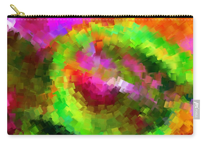 Carry-all Pouch featuring the digital art 1997029 by Studio Pixelskizm