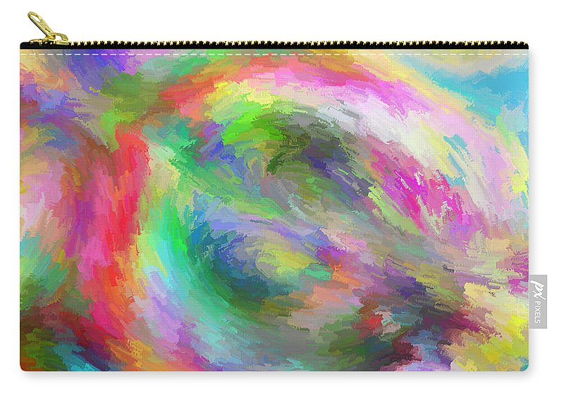 Carry-all Pouch featuring the digital art 1997033 by Studio Pixelskizm