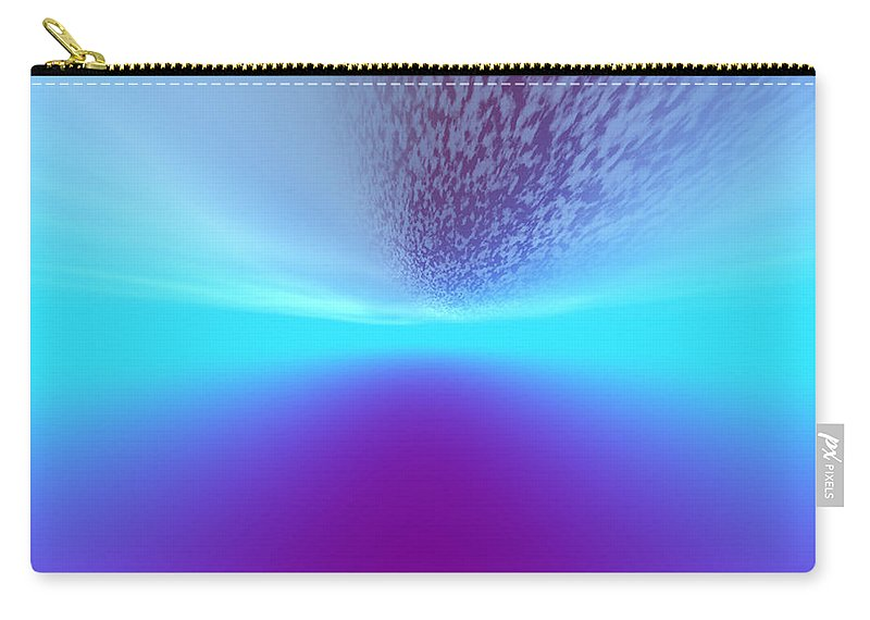 Carry-all Pouch featuring the digital art 1997041 by Studio Pixelskizm