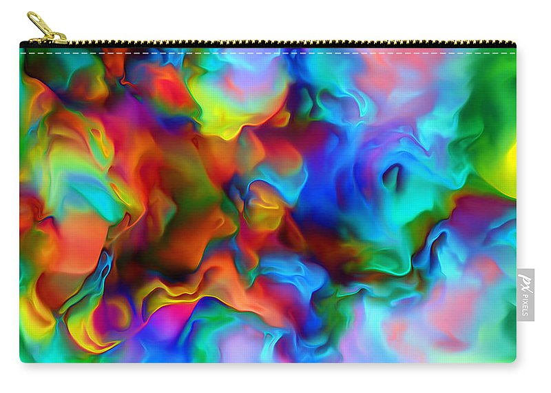 Carry-all Pouch featuring the digital art 199800702 by Studio Pixelskizm