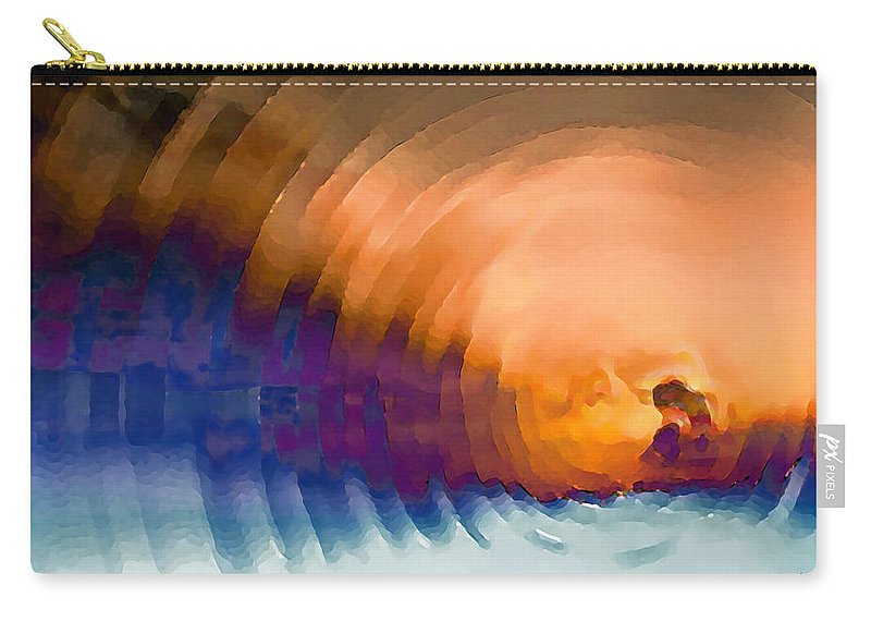 Carry-all Pouch featuring the digital art 1998010 by Studio Pixelskizm