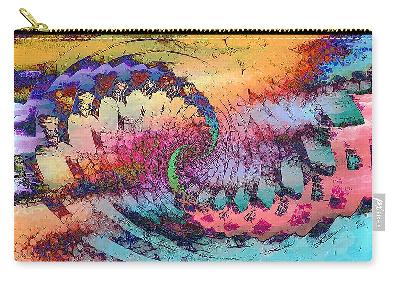 Carry-all Pouch featuring the digital art 1998013 by Studio Pixelskizm
