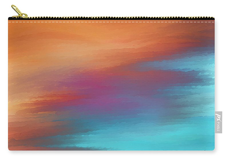 Carry-all Pouch featuring the digital art 1998021 by Studio Pixelskizm