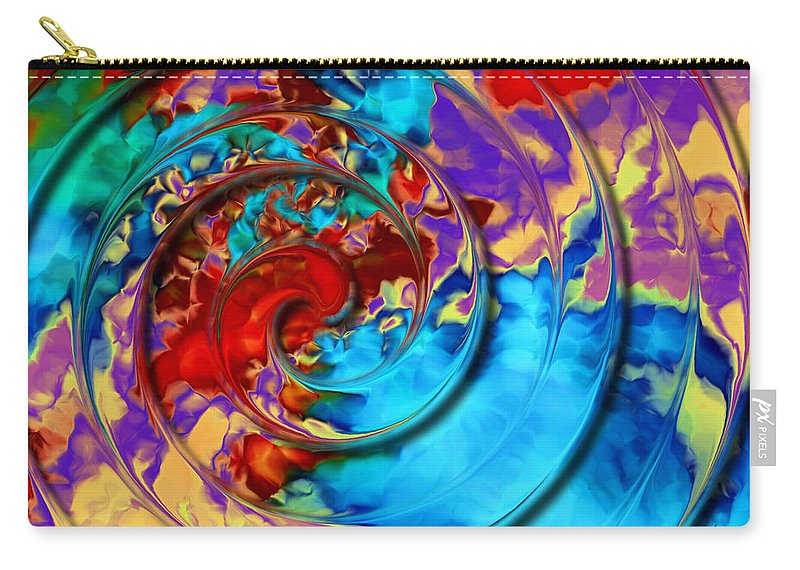 Carry-all Pouch featuring the digital art 1998024 by Studio Pixelskizm