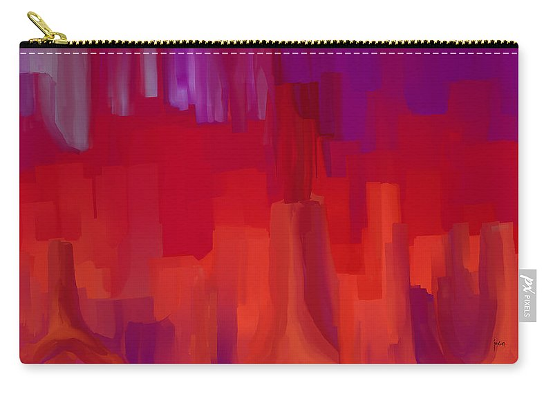 Carry-all Pouch featuring the digital art 1998042 by Studio Pixelskizm