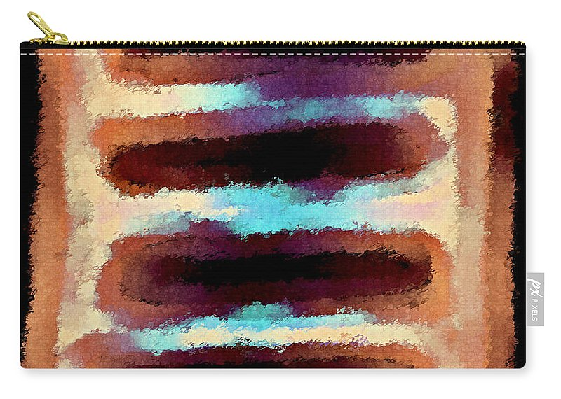 Carry-all Pouch featuring the digital art 1999002 by Studio Pixelskizm