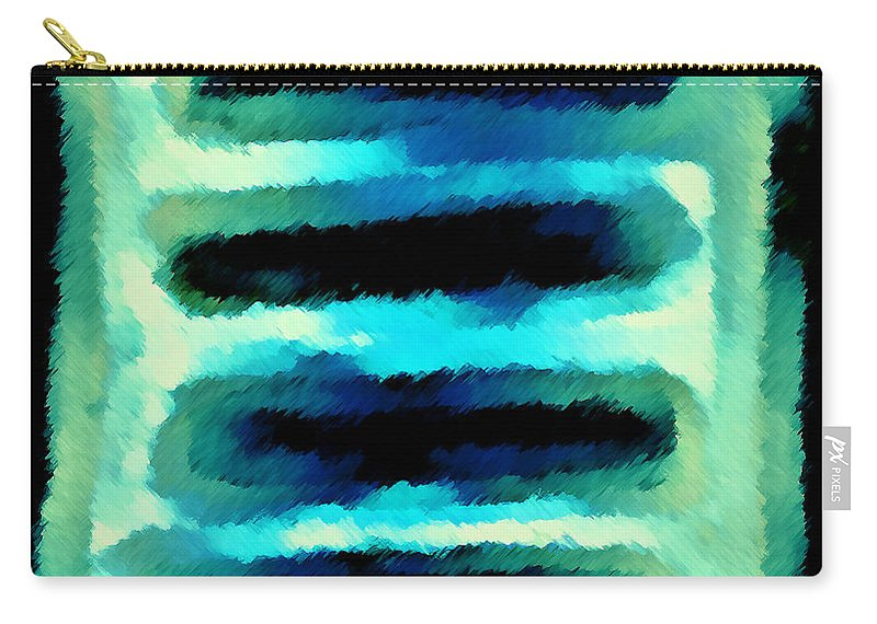 Carry-all Pouch featuring the digital art 1999003 by Studio Pixelskizm