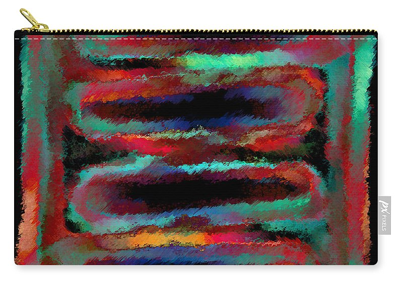 Carry-all Pouch featuring the digital art 1999004 by Studio Pixelskizm