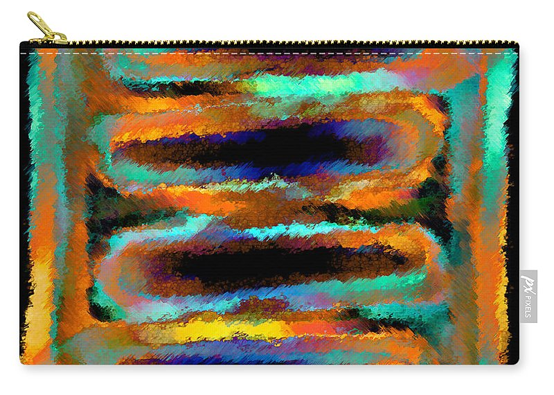 Carry-all Pouch featuring the digital art 1999005 by Studio Pixelskizm