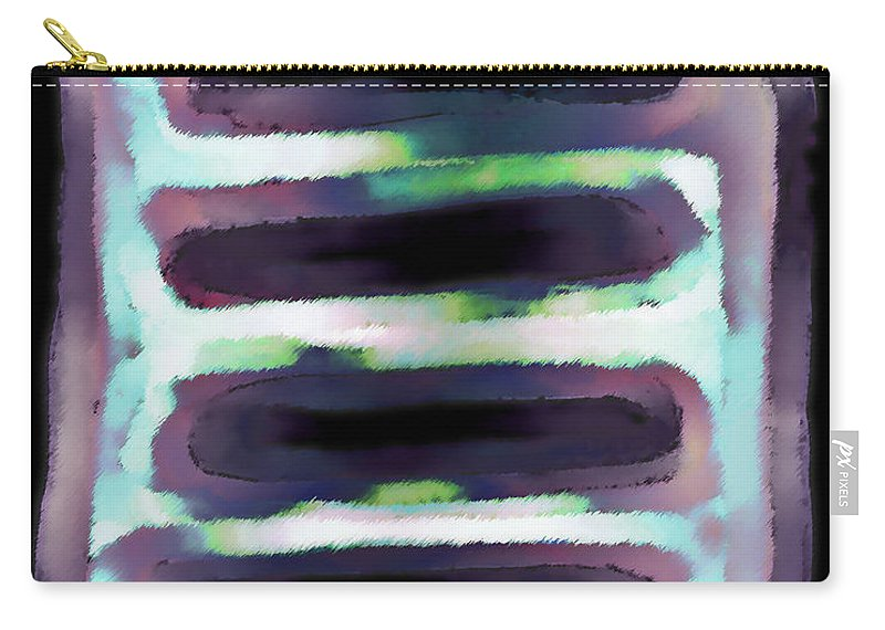 Carry-all Pouch featuring the digital art 1999010 by Studio Pixelskizm
