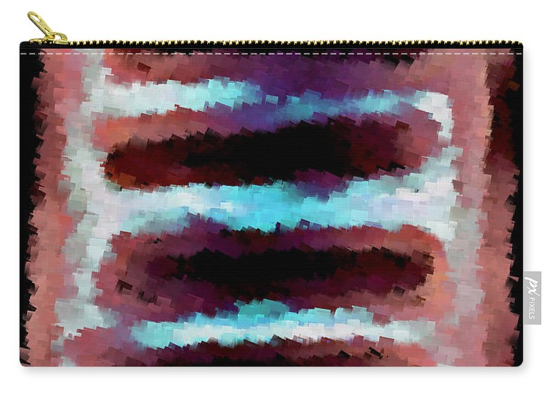 Carry-all Pouch featuring the digital art 1999011 by Studio Pixelskizm