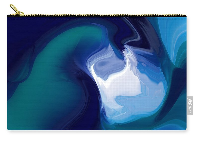 Carry-all Pouch featuring the digital art 1999033 by Studio Pixelskizm