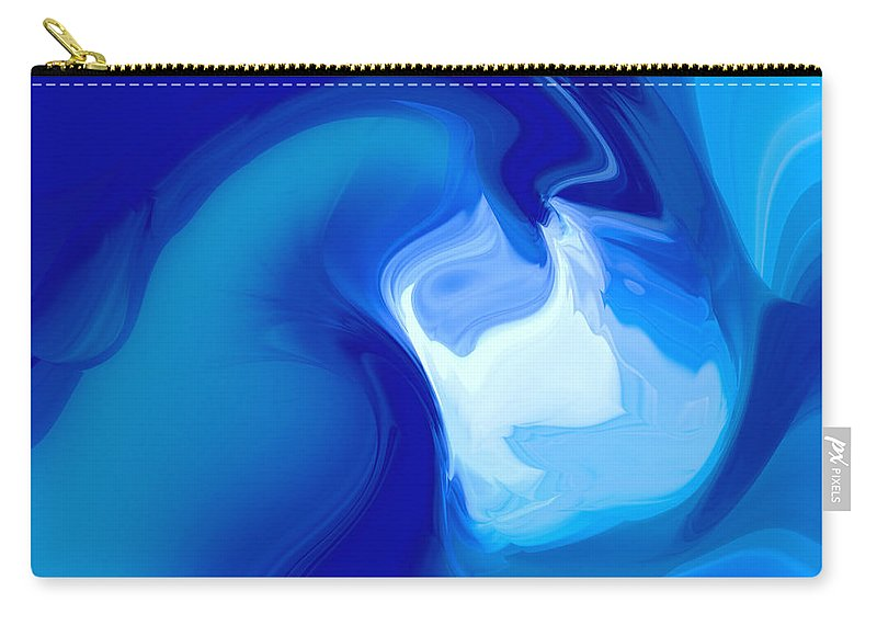 Carry-all Pouch featuring the digital art 1999034 by Studio Pixelskizm