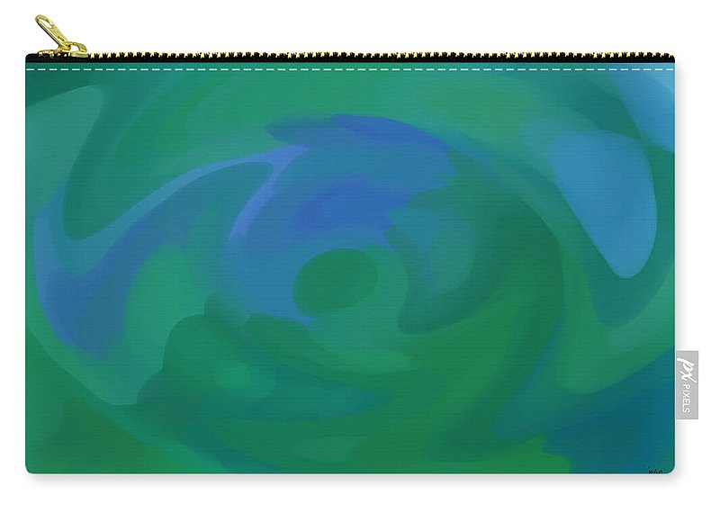 Carry-all Pouch featuring the digital art 1999037 by Studio Pixelskizm