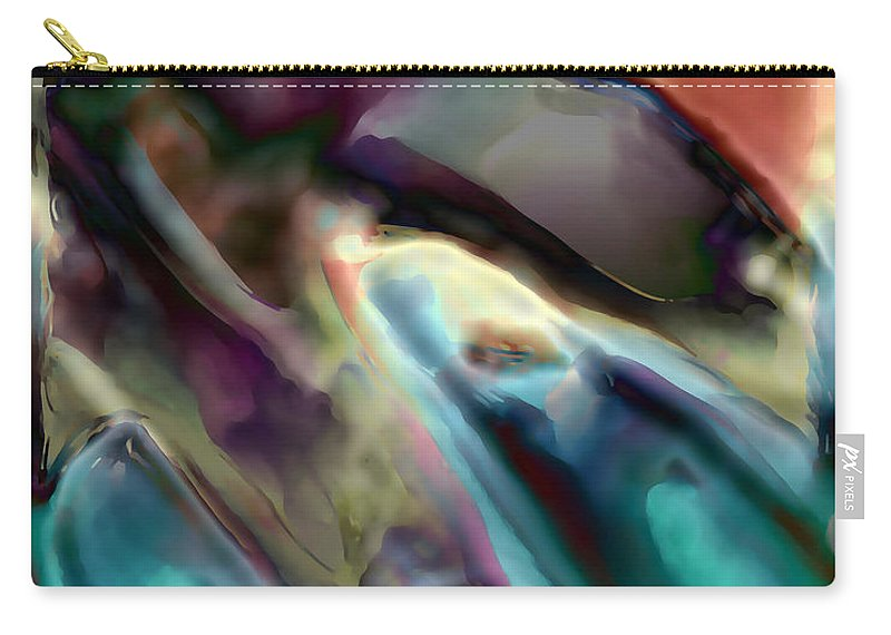 Carry-all Pouch featuring the digital art 1999077 by Studio Pixelskizm