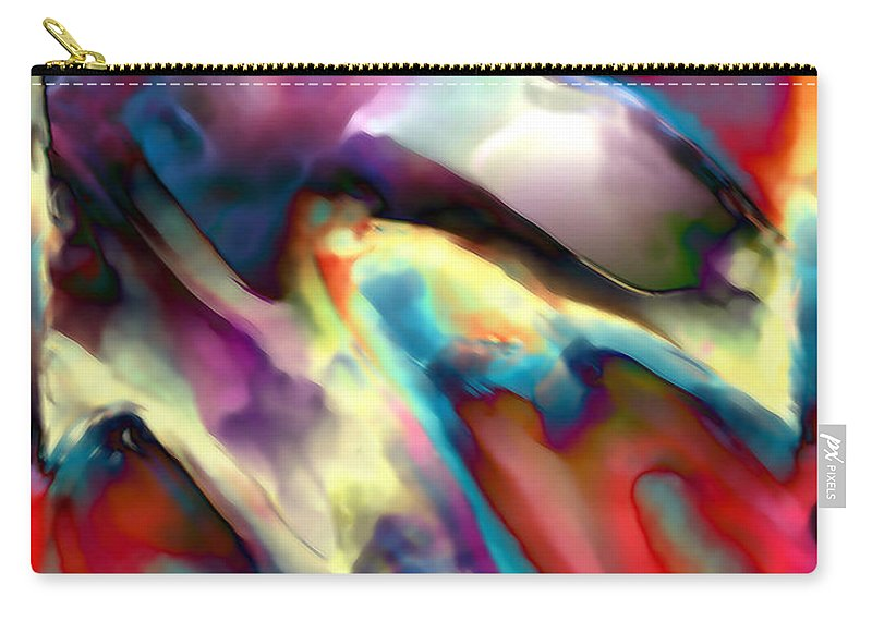 Carry-all Pouch featuring the digital art 1999081 by Studio Pixelskizm