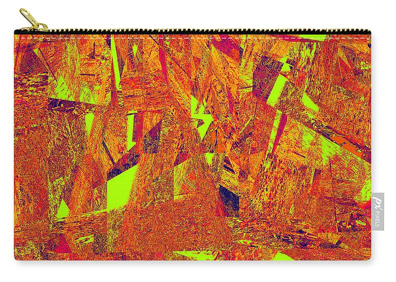 Abstract Carry-all Pouch featuring the digital art 0174 Abstract Thought by Chowdary V Arikatla