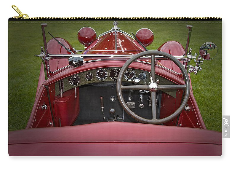 Antique Carry-all Pouch featuring the photograph 1931 Alfa Romeo by Jack R Perry