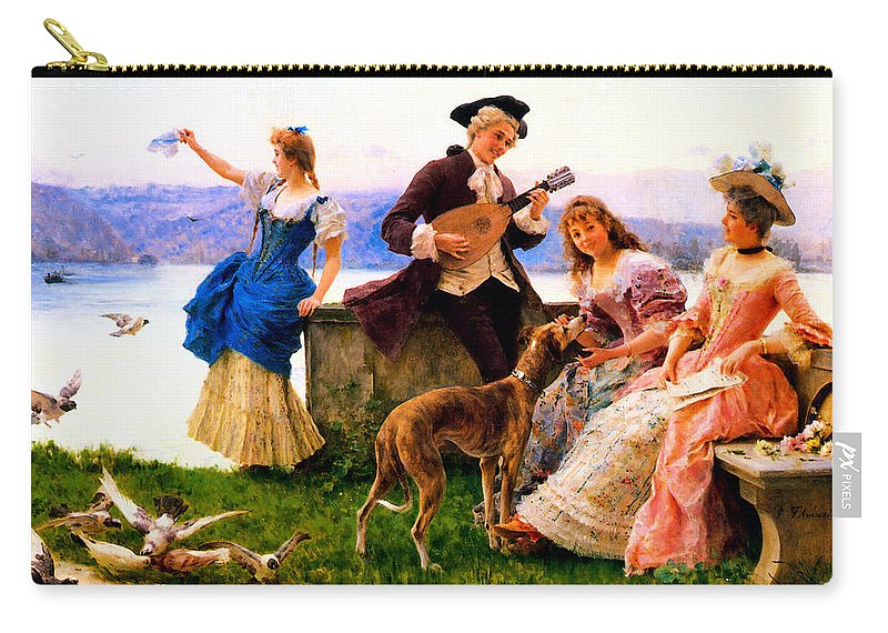 Federico Andreotti Carry-all Pouch featuring the photograph A Days Outing by Federico Andreotti