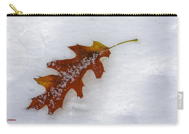 Autumn Carry-all Pouch featuring the photograph A Moment Together by Bill Sherrell