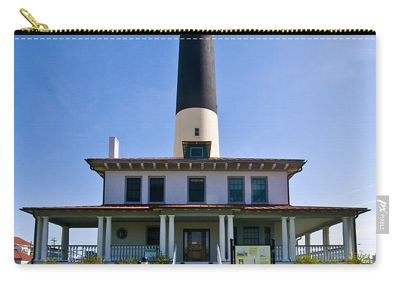 Absecon Lighthouse Carry-all Pouch featuring the photograph Absecon Lighthouse by Anthony Sacco